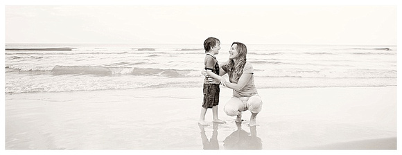 Robby and Mommy